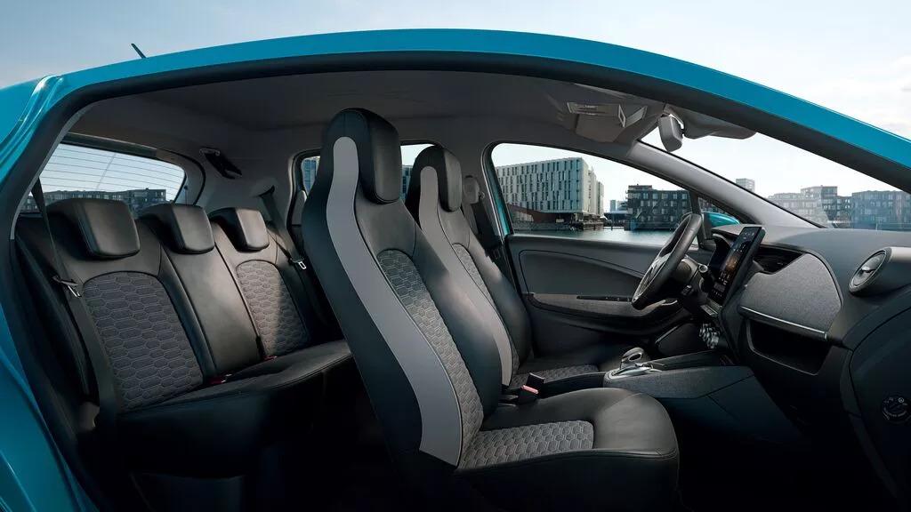 Renault Zoe - tapiterie textila